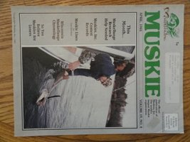 n Forbes and Doug Stange, Muskie Magazine 1985 [cover only], Illustration, Pr... - $13.85