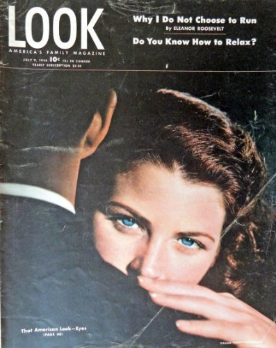 Primary image for american Eyes, Look Magazine, 1946 [cover only], Illustration, Print art. (th...