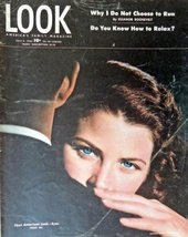 american Eyes, Look Magazine, 1946 [cover only], Illustration, Print art... - $14.84
