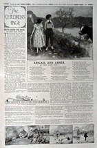 The Children's Page, August 10, 1916, the Youth's Companion [445]. Stories, P... - $16.82
