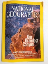 National Geographic Magazine our Grandest Canyon 2006 - $5.90