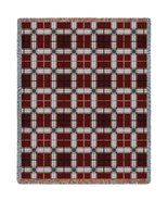 Brickcraft Plaid Throw - 70 x 53 Blanket/Throw - $64.95