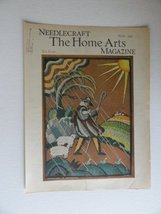 Georgina Harbeson, Needlecraft The Home Arts Magazine, 1934 (cover only)... - $24.74