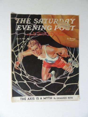 Primary image for Ski Weld, The Saturday Evening Post Magazine,1942(cover only) cover art by Sk...