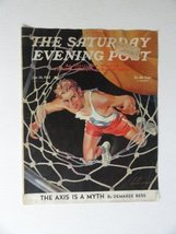 Ski Weld, The Saturday Evening Post Magazine,1942(cover only) cover art ... - $18.80