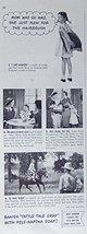 Fel-Naptha Soap, 30's Print ad. B&W Illustration (girl holding pillow on her ... - $12.86