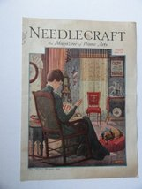 Reginald P. Ward, Needlecraft Magazine, 1930 (cover only) cover art by R... - $24.74