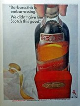 "Johnnie Walker Red Scotch Whiskey, Full Page Color Illustration, 10 1/2"" x 13... - $12.86"