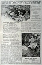 The Children's Page, August 17, 1916, the Youth's Companion [461]. Stories, P... - $16.82