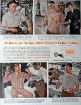 "B.V.D. Underwear, 1943 Print Advertisment. Color Illustration, 10 1/2"" x 13 1... - $18.99"