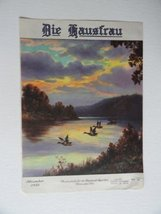 The House Wife/Die Hausfrau, November, 1935 (cover only) cover art ducks... - $17.81
