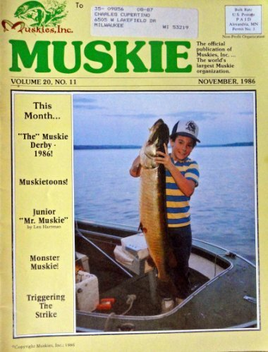 "Primary image for Paul Spiesman, Muskie magazine cover art [cover only] Color Illustration 8"" x..."