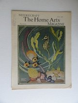Georgina Harbeson, Needlecraft The Home Arts Magazine 1934 (cover only) ... - $24.74