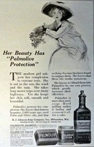 "Palmolive Shampoo, Print Advertisment. 1913 B&W Illustration, 5"" x 7"" Pr... - $12.86"