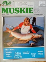 Mary Janovsky of Le Centre, Minnesota, Muskie Magazine, 1985 [cover only], Il... - $13.85
