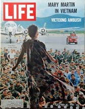 """Mary Martin / Vietnam, 60's full page Color/Illustration, Picture 10 1/2"""" x 1... - $15.83"""