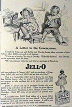 """Jell-O. 1916 Print Advertisment. B&W Illustration, 5 1/2"""" x 8"""" Print art... - $11.87"""