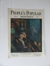 F.R. Harper, People's Popular Monthy Magazine, 1929 (cover only) cover a... - $19.79