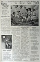 The Children's Page, May 18, 1916, The Youth's Companion [279]. Stories, Puzz... - $16.82