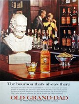"Old Grand Dad Whiskey, 60's full page Color Illustration, 10 1/2"" x 13 1/2"" P... - $12.86"
