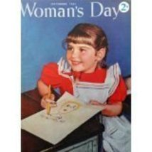 Woman's Day Magazine, 1941 [cover only], Illustration, Print art. (littl... - $13.85
