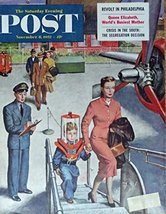 Amos Sewell, The Saturday Evening Post Magazine Cover art, Color Illustr... - $14.84