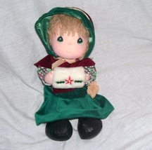 "Vintage Precious Moments DECEMBER 1988 Doll of the Month 11"" Cloth Doll ... - $9.96"