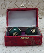 Vintage Ying Yang Chinese Baoding Chiming Balls // Stress Relief/Exercis... - $9.50