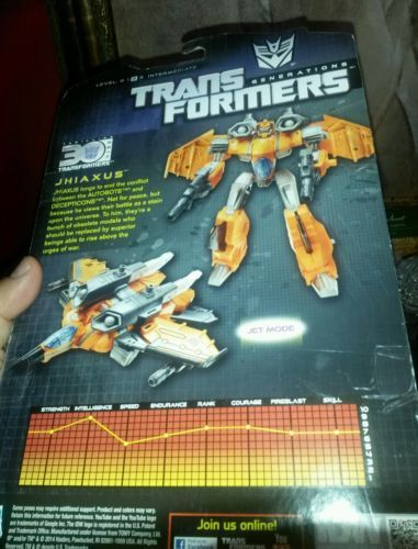Jhiaxus Transformers Generations Thrilling 30 Deluxe Class Action Figure