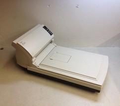 Fujitsu FI-4220C Flatbed Document Scanner Missing Tray No AC Adapter - $35.00