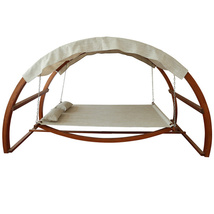 Canopy Swing Bed Lounge Patio Stand Sun Shade Pool Rocking - $999.00