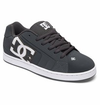 MENS DC NET SKATEBOARDING SHOES NIB GREY GRAY    (GRY) - $55.24