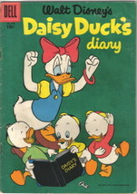 Daisy Duck's Diary Four Color Comic Book #659 Dell Comics 1955 FINE - $17.34