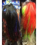 Wigs-15 different designs- Mixed Fancy Dress Halloween Colours Hair Wigs - $9.89