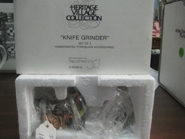 Department 56 Dickens Heritage Village Knife Grinder - $10.00