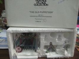 Department 56 Dickens  Heritage Village The Old Puppeteer - $15.00