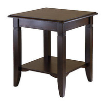 Winsome Wood Nolan End Table Home Living Room Hall Foyer Furniture Shelf... - $88.77