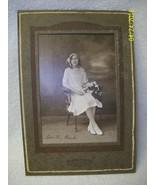 Vintage Young Lady signed Dorothy Bink Cabinet Real Photo Morgen Studio ... - $24.00