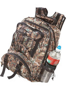 "17"" Backpack Gator Camo Daypack Pak Water-Resistant Mesh Water Bottle Ho... - $32.49"