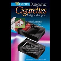Disappearing Cigarettes - A Pack Of Cigarettes Disappears From A Black Box! - $6.92