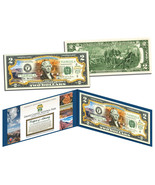 GRAND CANYON COLORIZED OFFICIAL LICENSED $2 BILL! W/H PROTECTIVE FOLIO &... - $12.73