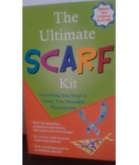 The Ultimate Scarf Kit NIB makes two  wearable scarves arts and crafts - $18.66