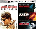 (Used) Mission: Impossible 5-Film Collection Blu-ray 1-4 + Rogue Nation