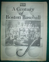 A Century of Boston Baseball 1999 Boston Red Sox Preview Ted Williams Ca... - $9.95