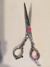 Washi Scissor Japanese 440C steel Rosebud hair shears cutting salon equi... - $191.00