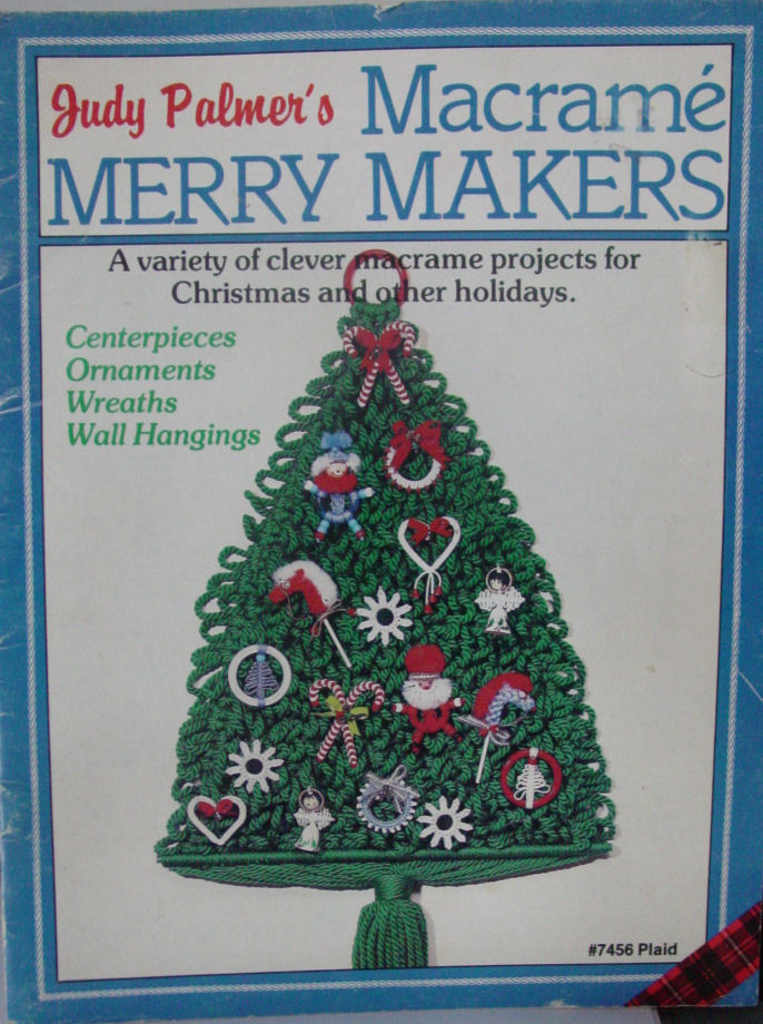 "Primary image for Instructions ""Macrame Marry Makers""  Holiday Ornaments"