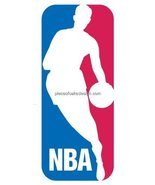 "2"" Round ~ NBA Logo Birthday ~ Edible Image Cake/Cupcake Topper!!! - $6.49"