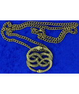 Auryn's Quest Necklace Neverending Story Very Nice Chain Style Length Ch... - $6.99+