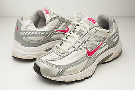 Nike 7 Silver Pink Running Shoes Women's - £28.44 GBP