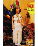 Fibre Craft 15 Inch Chief lll Doll with Accesso... - $32.00